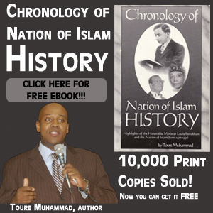Chronology of Nation of Islam History