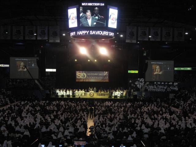 Saviours' Day 2011 Crowd Shot